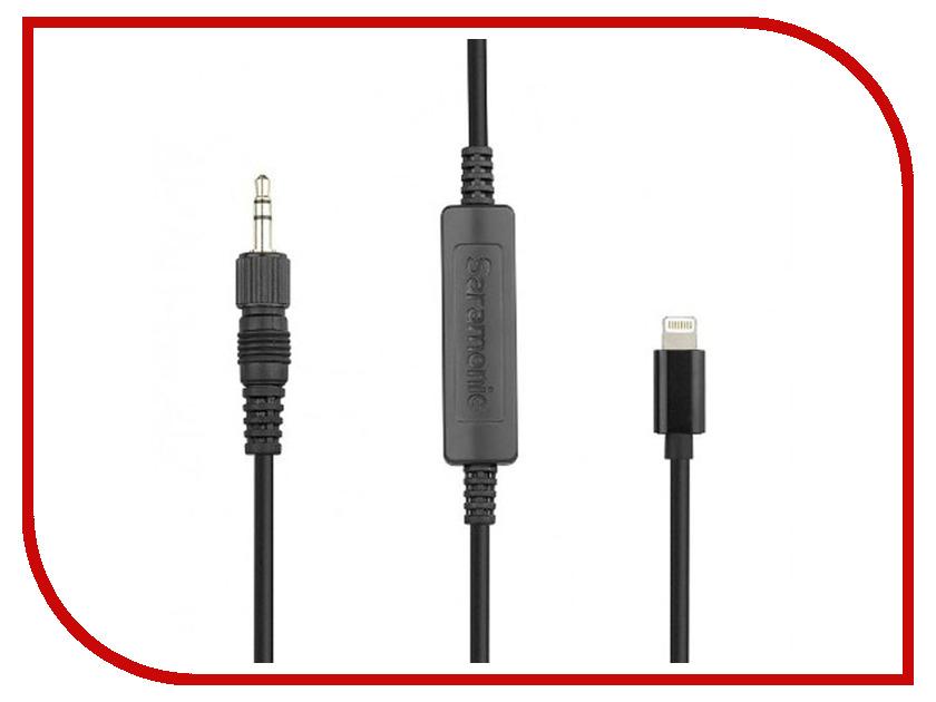 Кабель-переходник Saramonic 3.5 TRS - Lightning LC-C35 аксессуар кабель переходник saramonic sr gmc1 gopro
