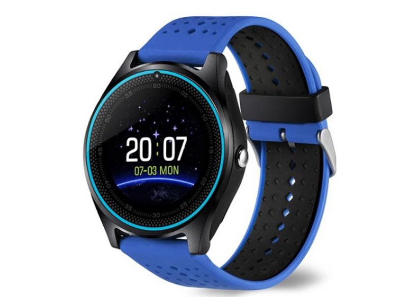 купить Умные часы ZDK V9 Blue по цене 3729 рублей