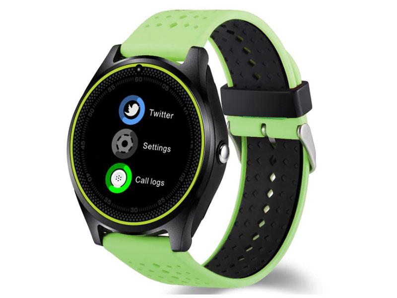 купить Умные часы ZDK V9 Green по цене 3729 рублей
