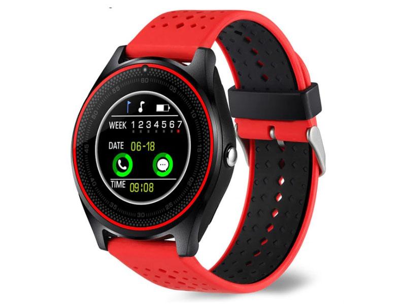 Умные часы ZDK V9 Red умные часы zdk y21 g light blue