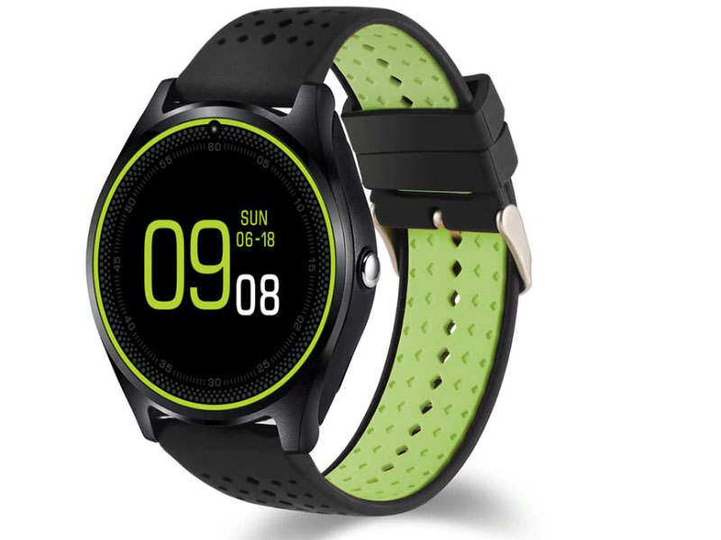 Умные часы ZDK V9 Black-Green цены онлайн