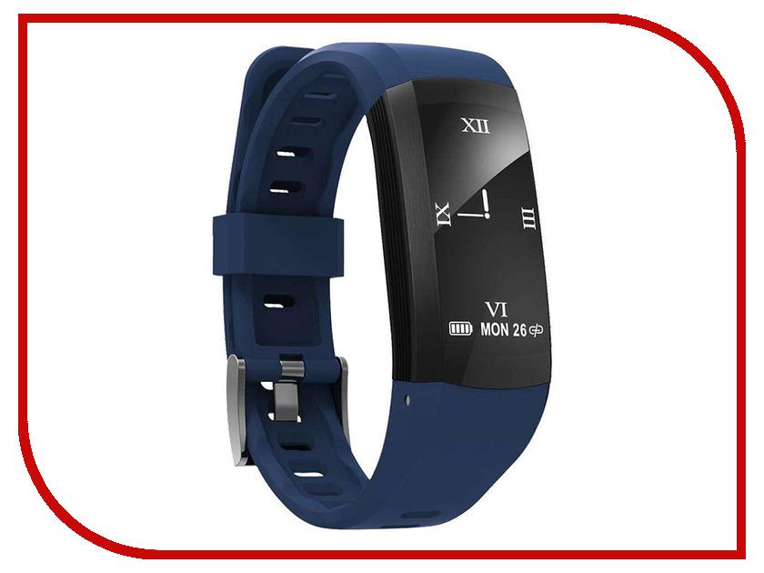 Умный браслет ZDK S906 Blue умный браслет zdk h8 silver%2