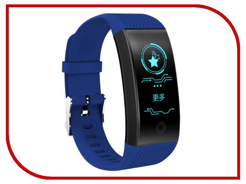 Умный браслет ZDK QW18 Blue умный браслет zdk h8 silver%2