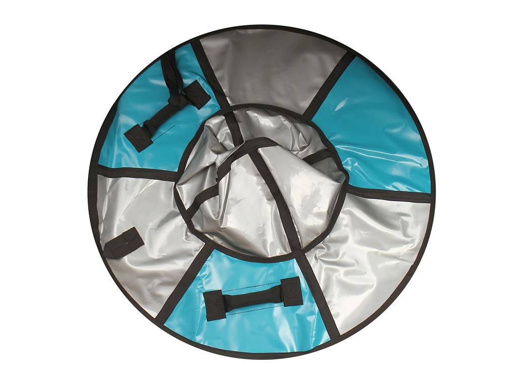 Тюбинг SnowShow Практик 105cm Turquoise-Silver