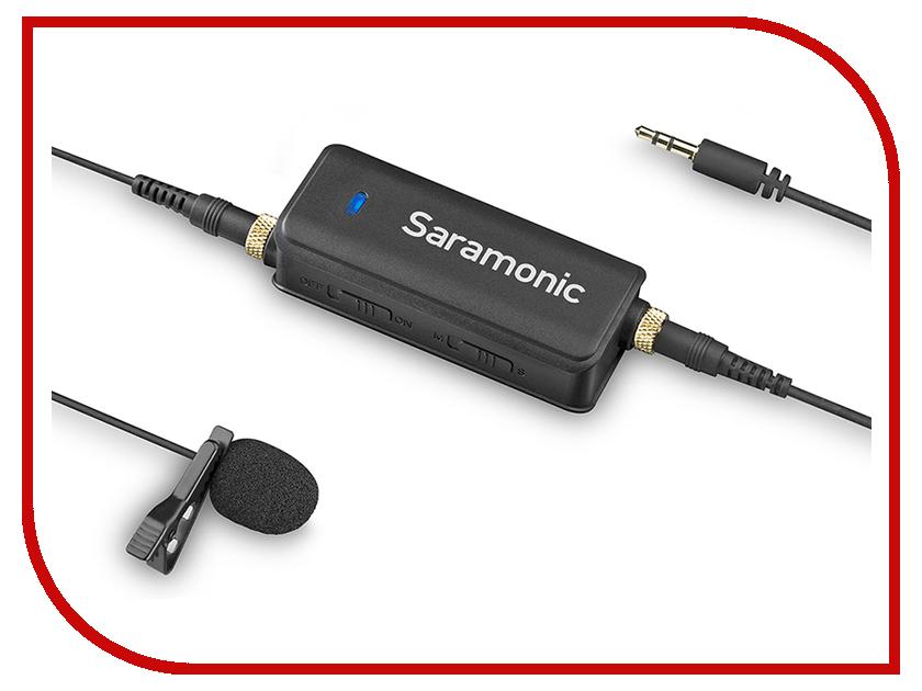 Микрофон Saramonic LavMic микрофон saramonic vmic stereo