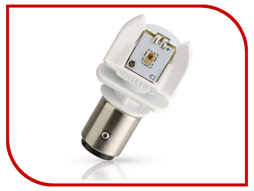 Лампа Philips P21/5W 12V-2/0.3W BAY15d LED 12899RX2 (2шт) лампа philips x treme ultinon led p21 5w 12v led 1 9 0 3w bay15d red 2 штуки 11499xurx2