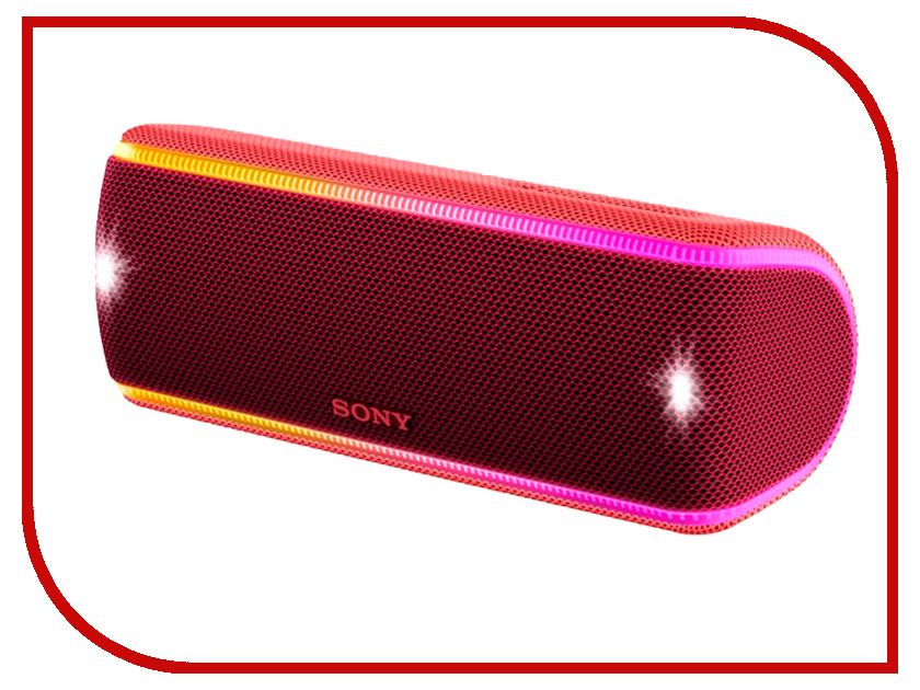 Колонка Sony SRS-XB31 Red