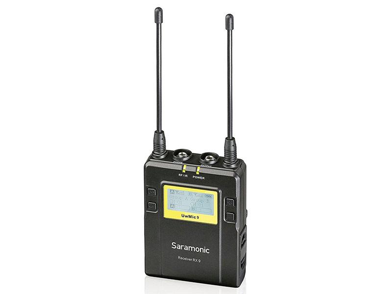 Микрофон Saramonic UwMic9 2-х канальный RX9