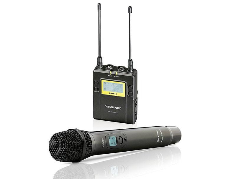 Микрофон Saramonic UwMic9 RX9+HU9 микрофон saramonic uwmic9 2 х канальный rx9
