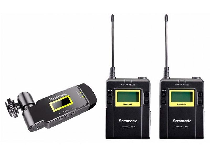 Микрофон Saramonic UwMic9 TX9+TX9+RX-XLR9