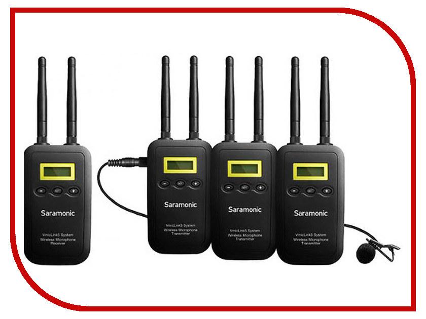 Микрофон Saramonic VmicLink5 TX+TX+TX+RX ремень dc chinook tx black heather