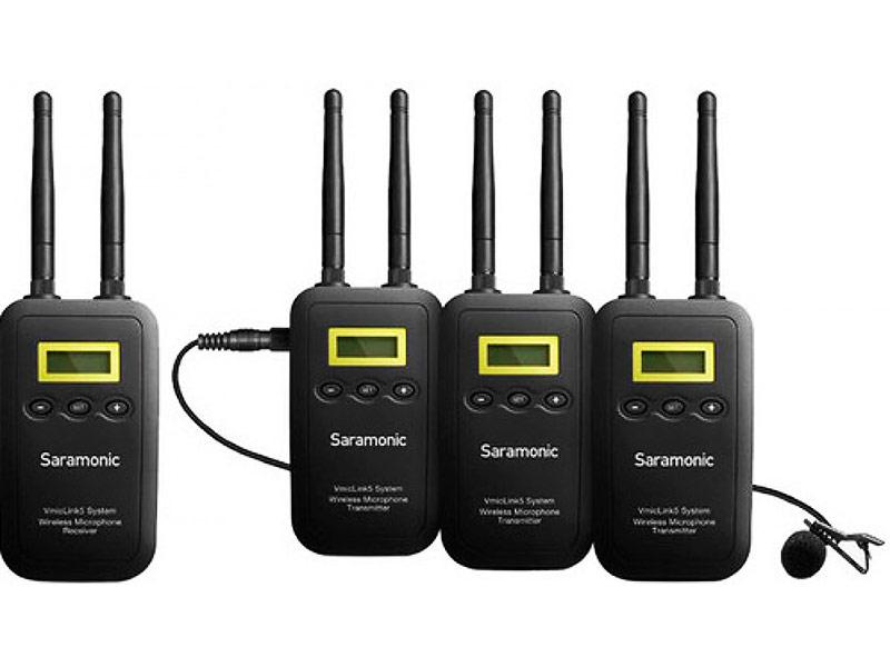 Микрофон Saramonic VmicLink5 TX+TX+TX+RX tx 200