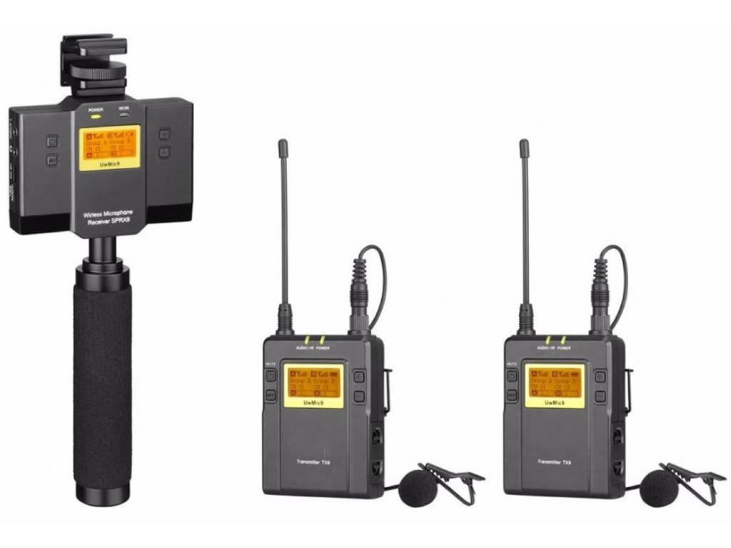 Микрофон Saramonic UwMic9 TX9+TX9+SPRX9