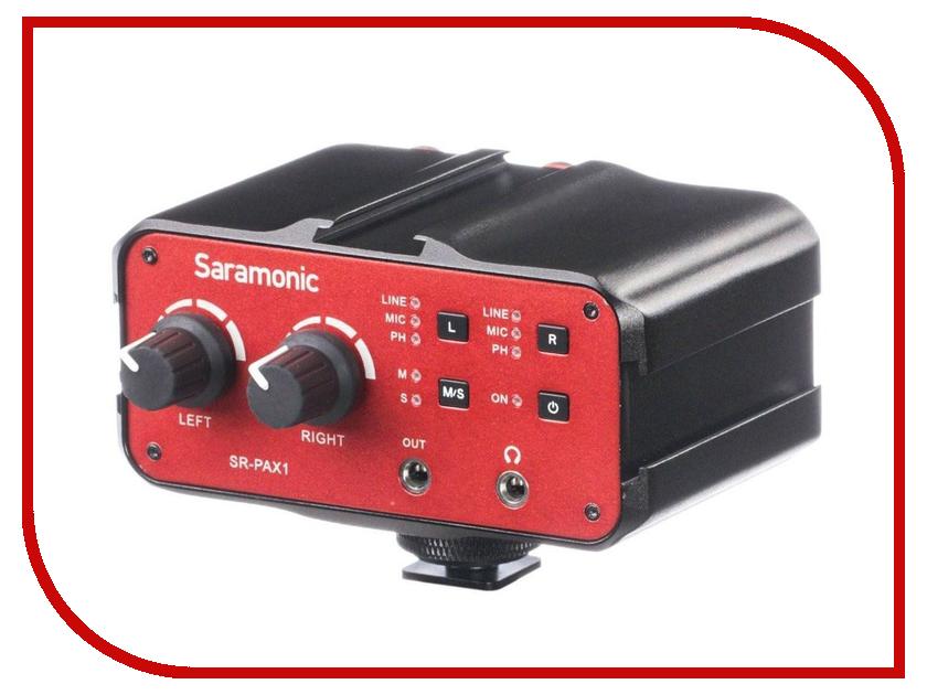 Микрофон Saramonic SR-PAX1 микрофон saramonic vmic stereo