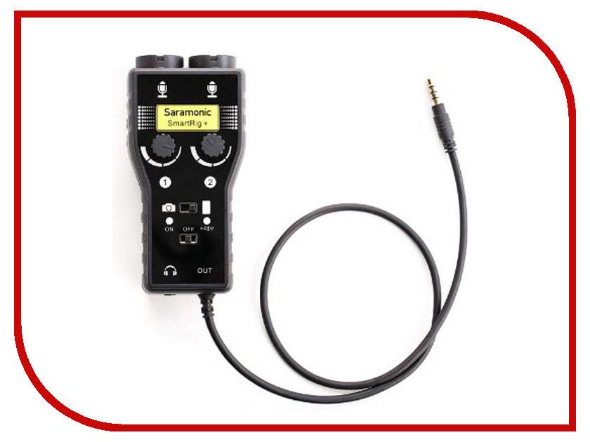 Микрофон Saramonic SmartRig+ микрофон saramonic vmic stereo