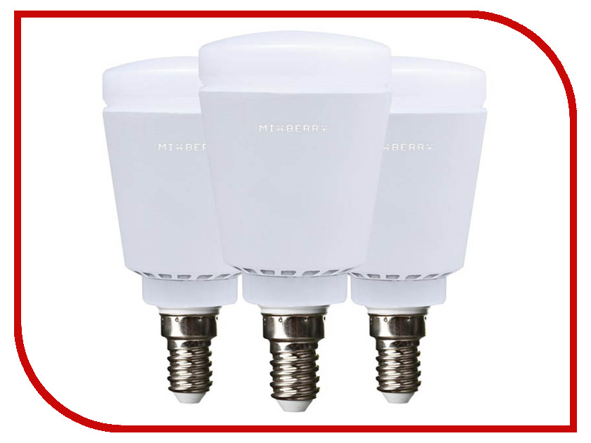Лампочка MixBerry Smart Lamp E14 5W MSL5RGB114x3 3шт