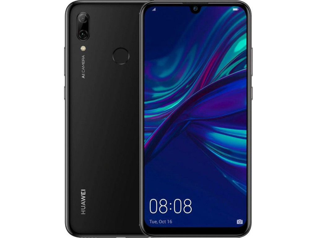 Сотовый телефон HUAWEI P Smart (2019) 3/32GB Black сотовый телефон huawei nova gray