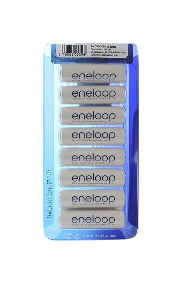 Аккумулятор AA - Panasonic Eneloop 1900 mAh 8BP BK-3MCCE/8LE