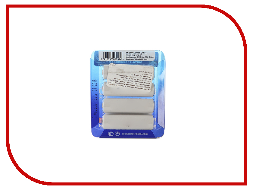 Аккумулятор AA - Panasonic Eneloop 1900 mAh 4BP BK-3MCCE/4LE стоимость