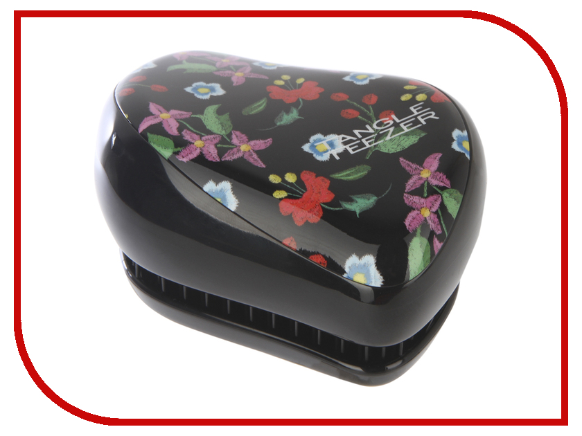 Расческа Tangle Teezer Compact Styler Embroidered Floral 2114 floral embroidered tie sheer kimono
