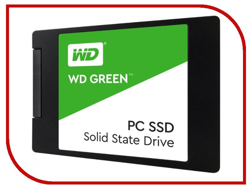 Жесткий диск Western Digital WD GREEN PC SSD 480 GB (WDS480G2G0A) цена и фото