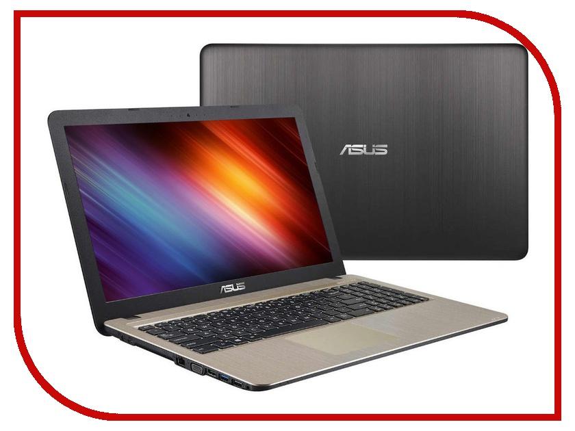 Купить Ноутбук ASUS X540LA-XX1007 Chocolate Black 90NB0B01-M25130 (Intel Core i3-5005U 2.0 GHz/4096Mb/500Gb/Intel HD Graphics/Wi-Fi/Bluetooth/Cam/15.6/1366x768/Endless OS)