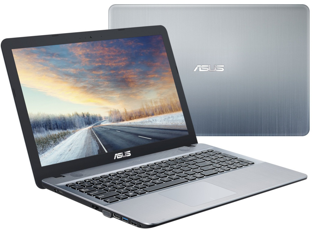 Ноутбук ASUS X541UV-DM1609 Silver Gradient 90NB0CG3-M24160 (Intel Core i3-6006U 2.0 GHz/8192Mb/1000Gb/nVidia GeForce 920MX 2048Mb/Wi-Fi/Bluetooth/Cam/15.6/1920x1080/Endless OS)