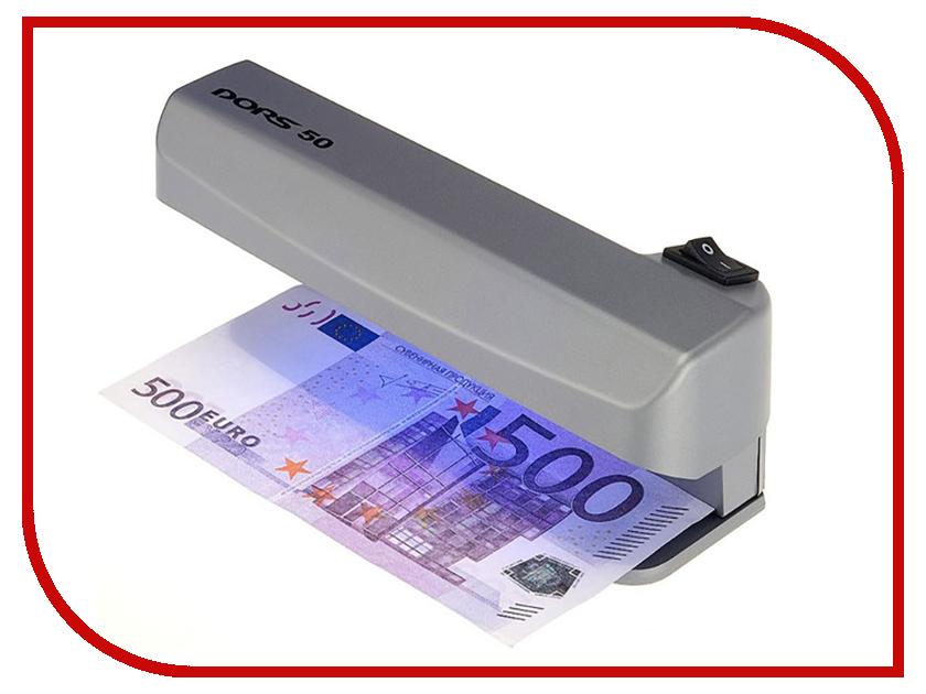 Детектор валют DORS 50 Grey детектор валют docash mini ir dvm mini grey