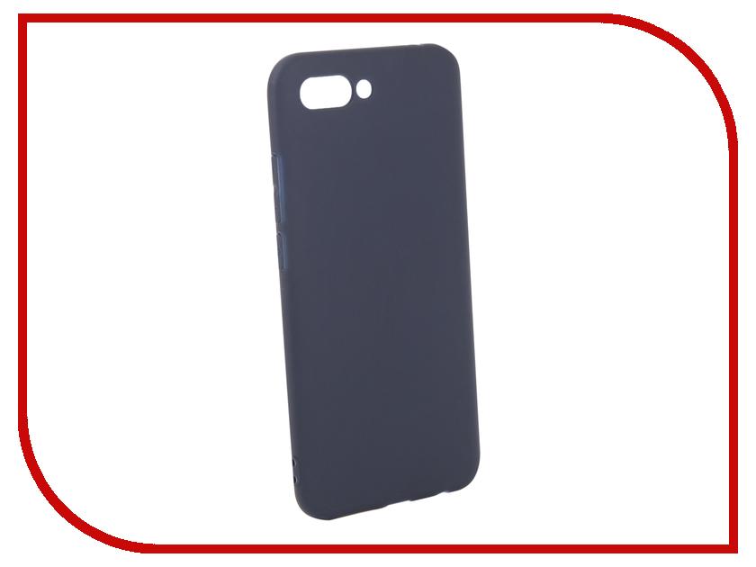 Аксессуар Чехол для Huawei Honor 10 Pero Soft Touch Blue PRSTC-H10BL аксессуар чехол для huawei p20 lite pero soft touch black prstc p20lb