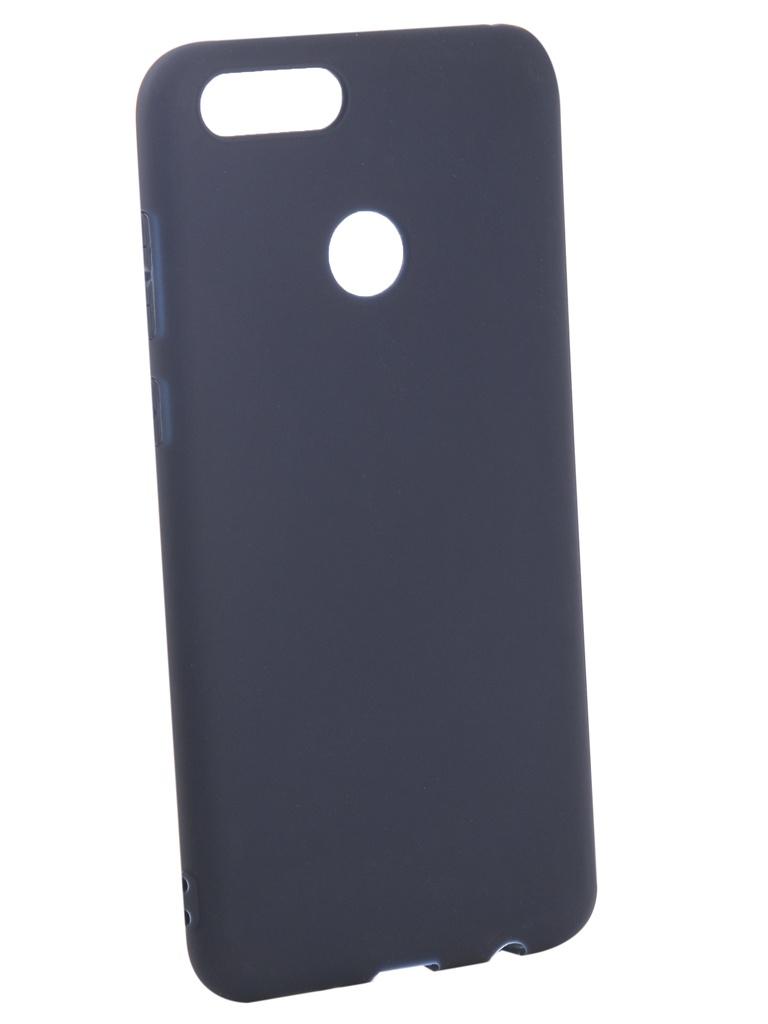 Аксессуар Чехол Pero для Honor 7X Soft Touch Blue PRSTC-H7XBL аксессуар чехол для apple iphone xs max pero soft touch blue prstc ixsmbl