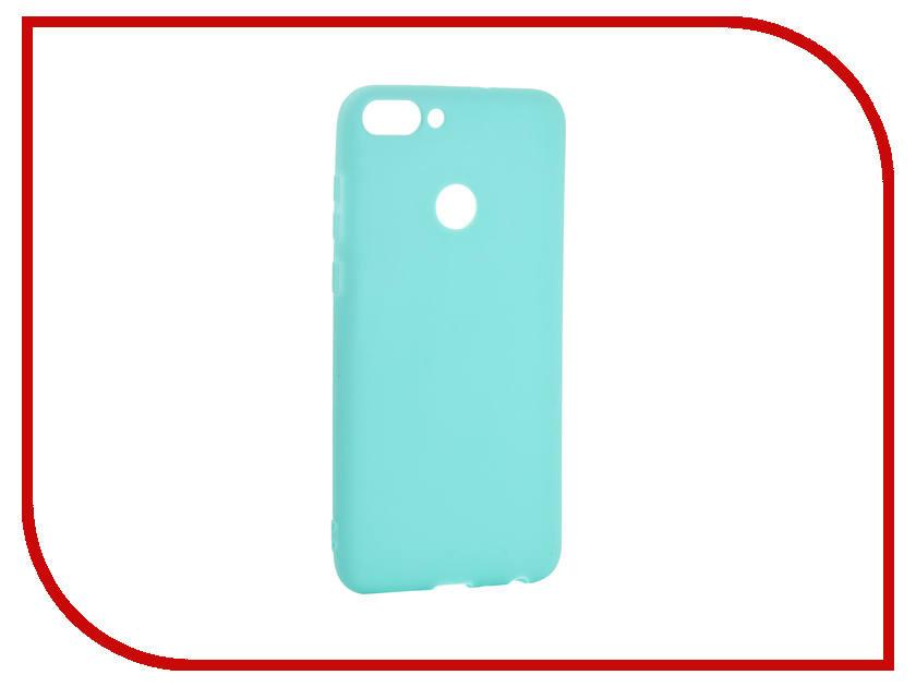 Аксессуар Чехол для Huawei P Smart Pero Soft Touch Turquoise PRSTC-HPSMC аксессуар чехол для huawei p20 lite pero soft touch black prstc p20lb