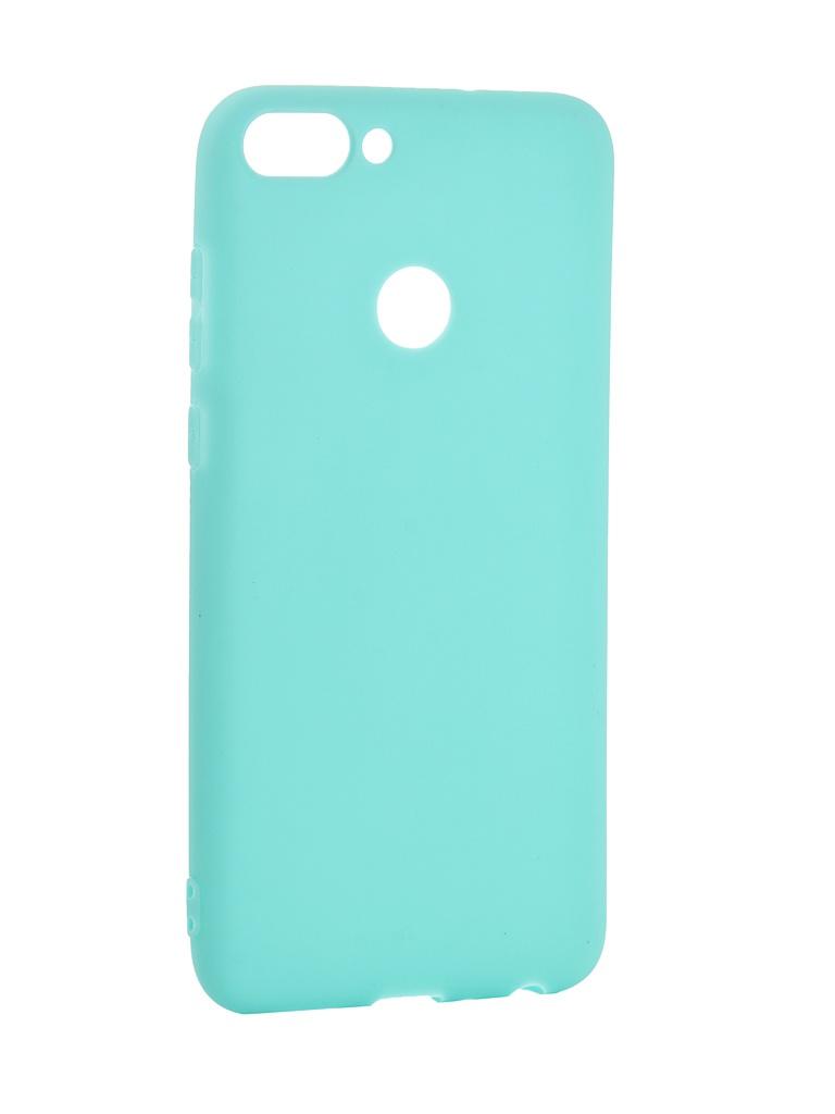 Аксессуар Чехол Pero для Huawei P Smart Soft Touch Turquoise PRSTC-HPSMC