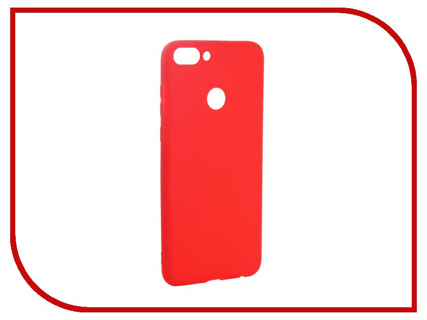 Аксессуар Чехол для Huawei P Smart Pero Soft Touch Red PRSTC-HPSMR аксессуар чехол для huawei p20 lite pero soft touch black prstc p20lb
