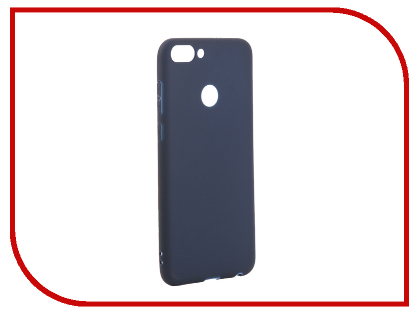 Аксессуар Чехол для Huawei P Smart Pero Soft Touch Blue PRSTC-HPSMBL аксессуар чехол для huawei p20 lite pero soft touch black prstc p20lb