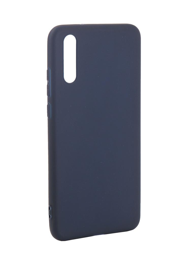 Аксессуар Чехол Pero для Huawei P20 Soft Touch Blue PRSTC-P20BL