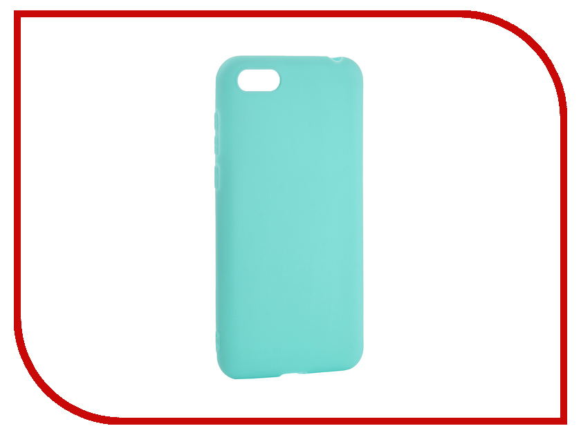 Аксессуар Чехол для Huawei Y5 Prime 2018 Pero Soft Touch Turquoise PRSTC-Y518C аксессуар чехол для xiaomi mi max 2 pero soft touch black prstc mmax21b