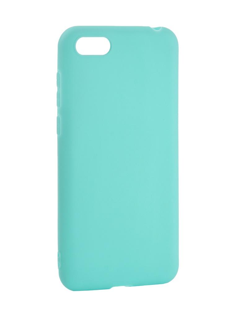 Аксессуар Чехол Pero для Huawei Y5 Prime 2018 Soft Touch Turquoise PRSTC-Y518C аксессуар чехол для apple iphone x pero soft touch turquoise prstc ixc