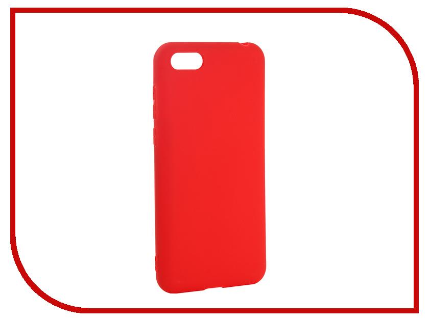 Аксессуар Чехол для Huawei Y5 Prime 2018 Pero Soft Touch Red PRSTC-Y518R аксессуар чехол для huawei p20 lite pero soft touch black prstc p20lb