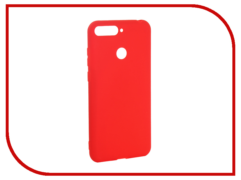 Аксессуар Чехол для Huawei Y6 Prime 2018 Pero Soft Touch Red PRSTC-Y618PR complete advanced student s book with answers with cd rom with testbank