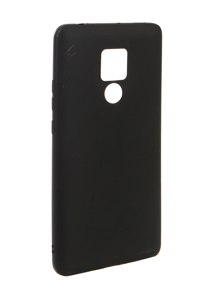 Аксессуар Чехол Zibelino для Huawei Mate 20X Soft Matte Black ZSM-HUA-M20X-BLK