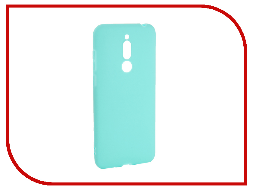 Аксессуар Чехол для Meizu M6T Pero Soft Touch Turquoise PRSTC-MM6TC аксессуар чехол для xiaomi mi max 2 pero soft touch black prstc mmax21b