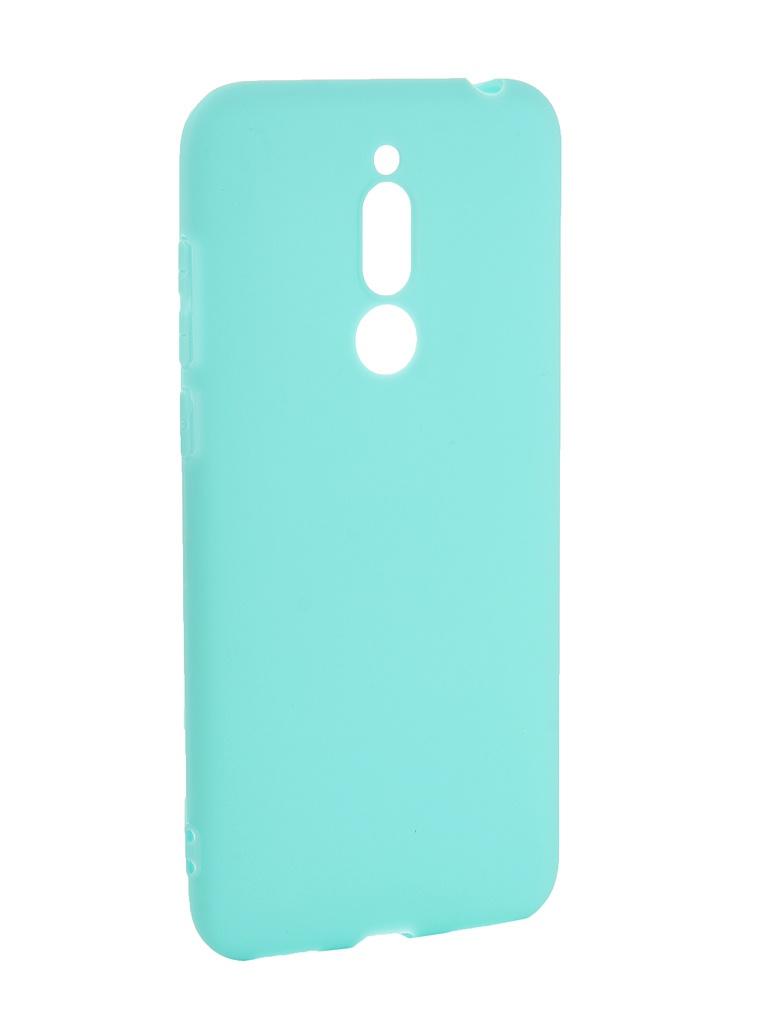 Аксессуар Чехол Pero для Meizu M6T Soft Touch Turquoise PRSTC-MM6TC