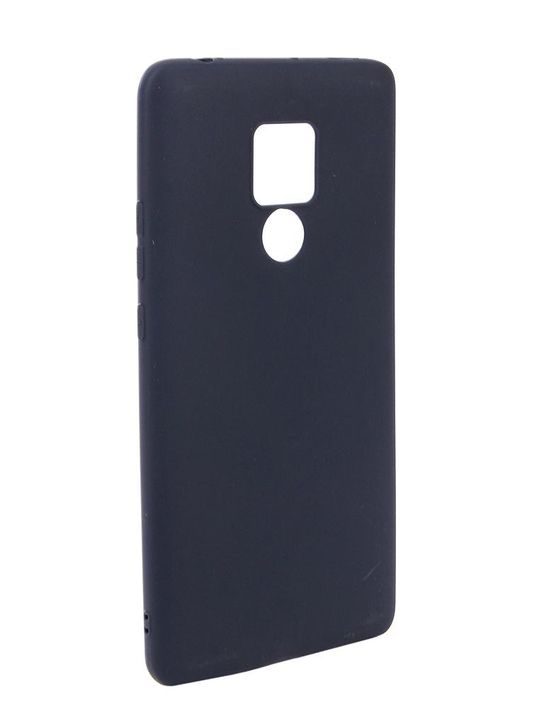 Аксессуар Чехол Zibelino для Huawei Mate 20X Soft Matte Dark Blue ZSM-HUA-M20X-DBL