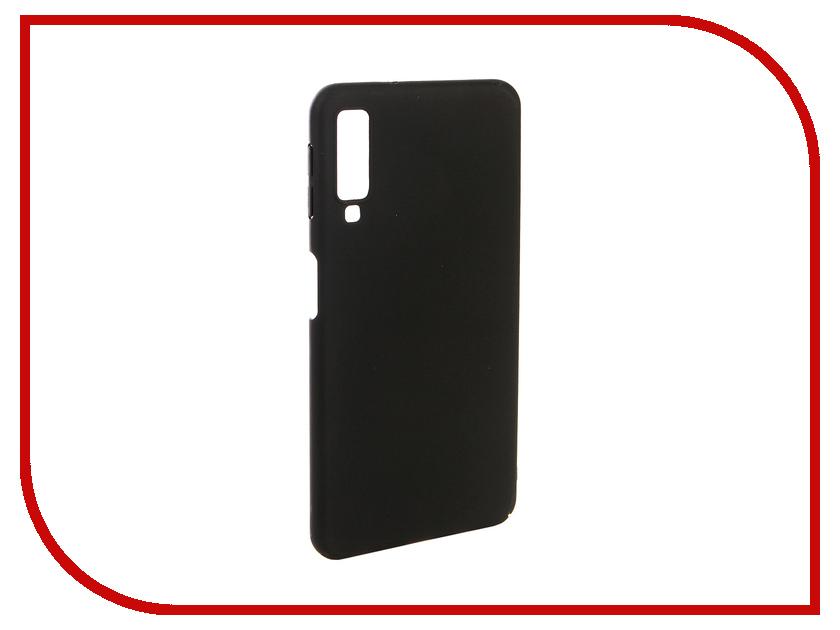 Аксессуар Чехол для Samsung A7 A750F 2018 Zibelino PC Black ZPC-SAM-A750-BLK аксессуар чехол samsung j3 2017 j330f zibelino clear view black zcv sam j330 blk