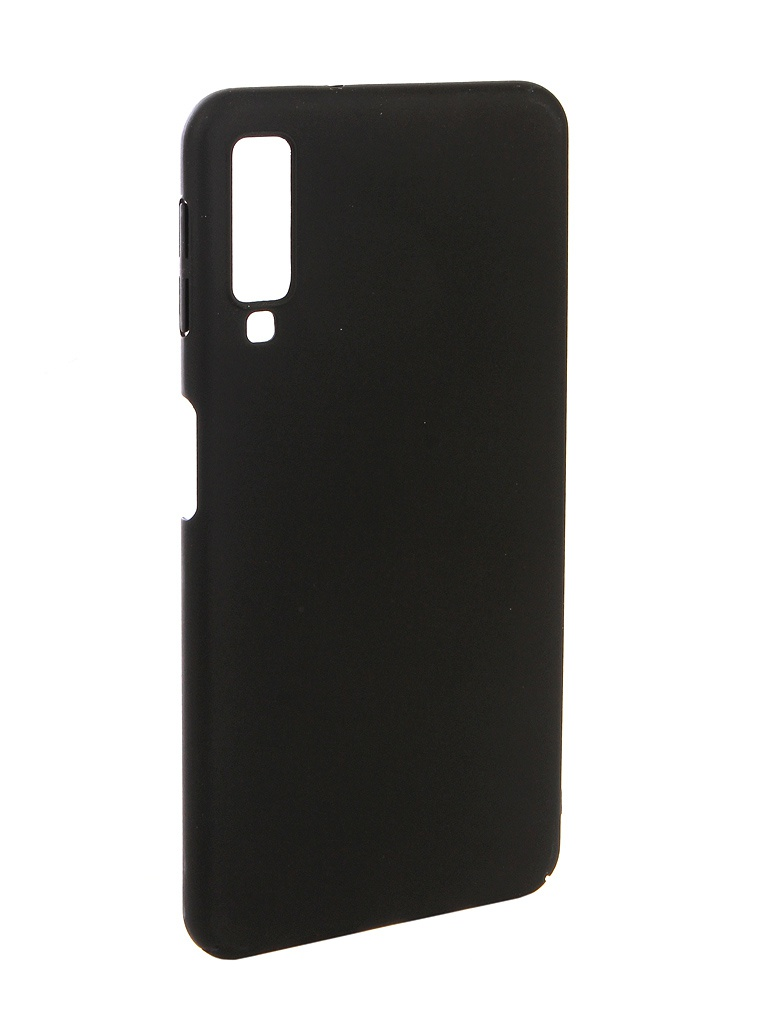 Аксессуар Чехол Zibelino для Samsung A7 A750F 2018 PC Black ZPC-SAM-A750-BLK аксессуар чехол zibelino для samsung galaxy a7 a750f 2018 hard plast black zhp sam a750 blk