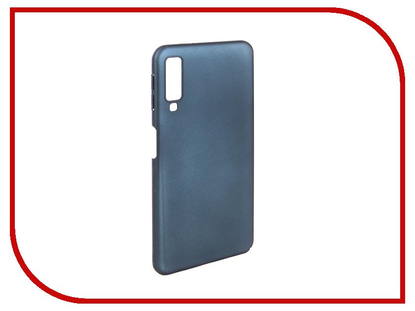 Аксессуар Чехол для Samsung A7 A750F 2018 Zibelino PC Blue ZPC-SAM-A750-BLU аксессуар чехол samsung j3 2017 j330f zibelino clear view black zcv sam j330 blk
