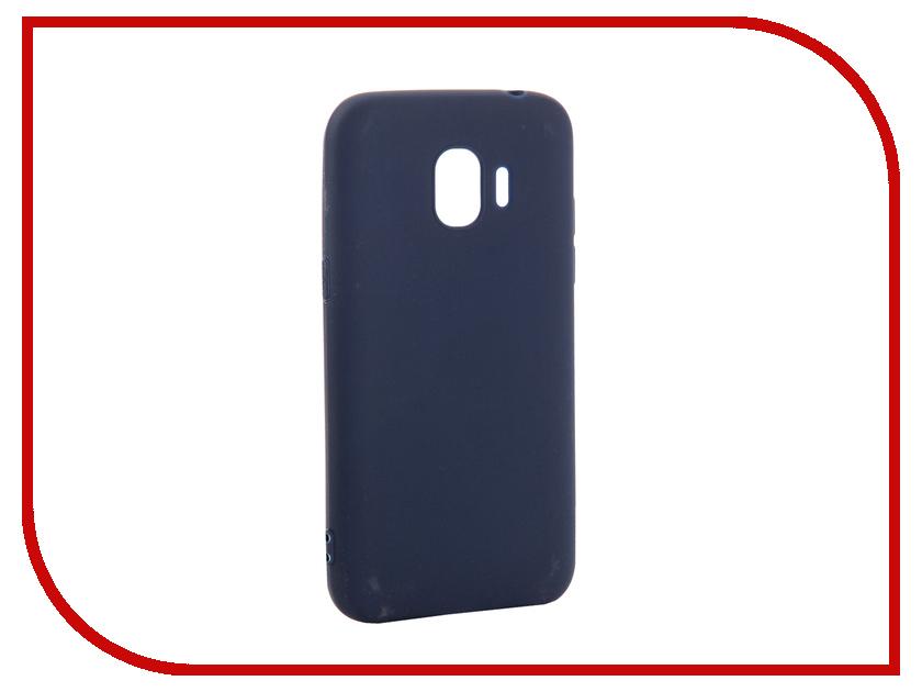 Аксессуар Чехол для Samsung Galaxy J2 2018 Pero Soft Touch Blue PRSTC-J218BL цена и фото