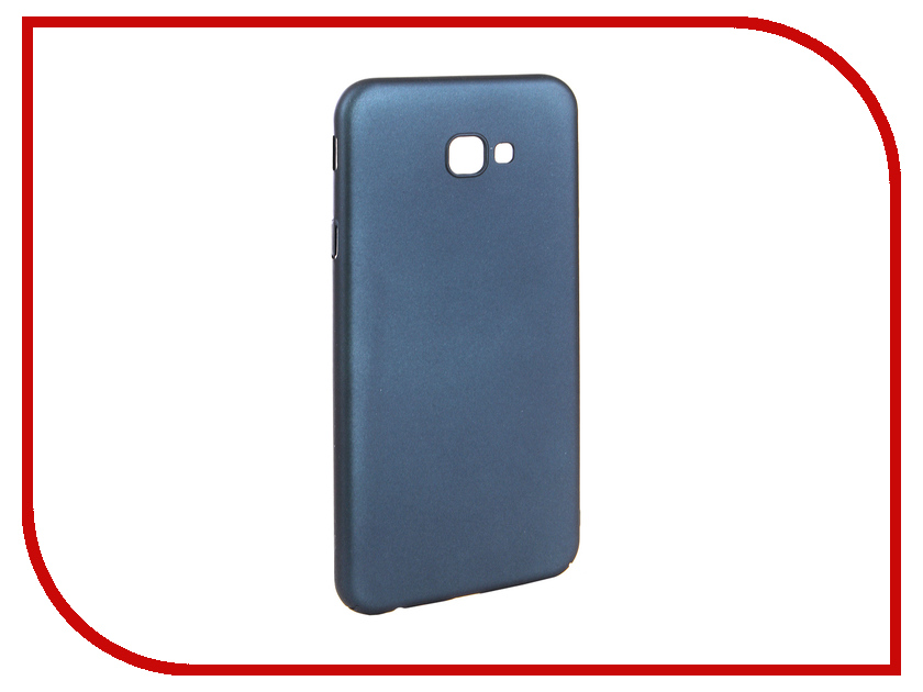 Аксессуар Чехол для Samsung J4 Plus J415F 2018 Zibelino PC Blue ZPC-SAM-J415F-BLU аксессуар чехол для samsung a8 2018 a530 zibelino clear view blue zcv sam a530 blu