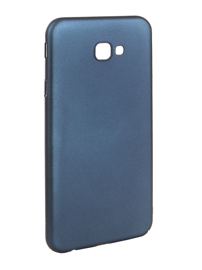 Аксессуар Чехол Zibelino для Samsung J4 Plus J415F 2018 PC Blue ZPC-SAM-J415F-BLU аксессуар чехол для samsung galaxy j4 plus j415f 2018 zibelino ultra thin case transparent zutc sam j415f wh