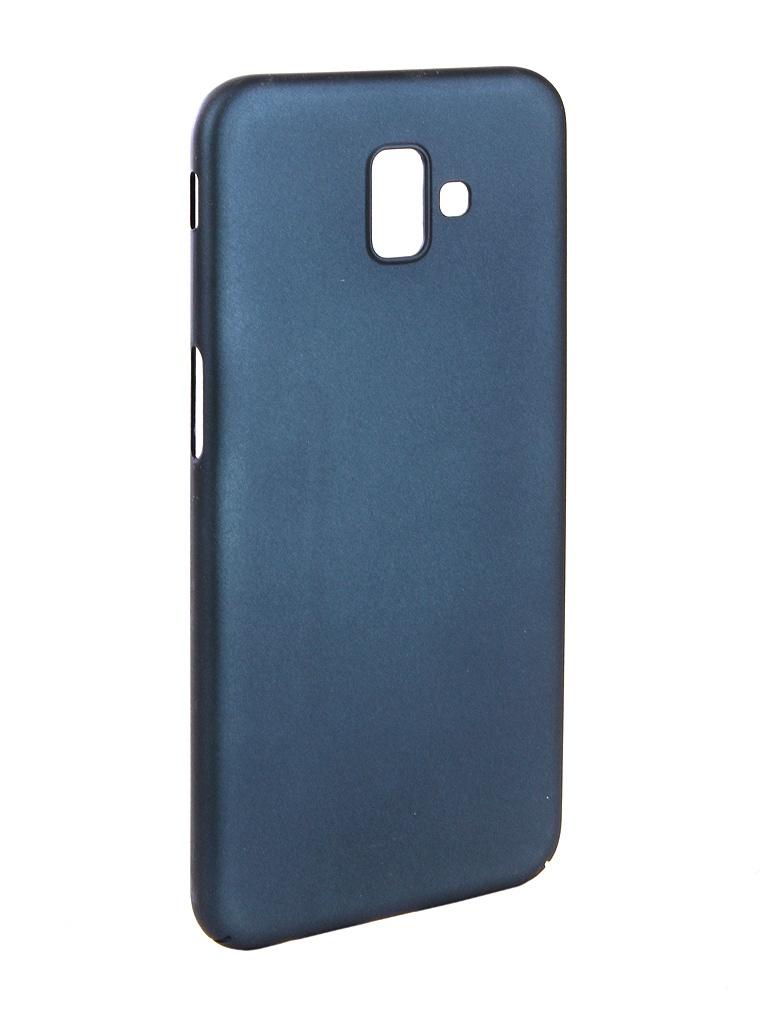 Аксессуар Чехол Zibelino для Samsung J6 Plus J610F 2018 PC Blue ZPC-SAM-J610F-BLU аксессуар чехол zibelino для samsung j4 plus j415f 2018 pc blue zpc sam j415f blu